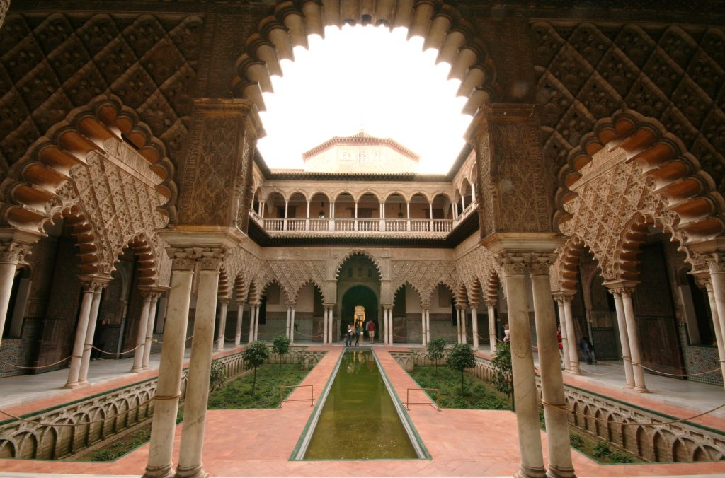 Patio de las Doncellas - Real Alcazar Sevilla